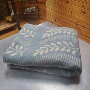 Vintage Tidstrand Wool Throw Blanket Sweden by Len